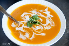 Curried Coconut Butternut Squash Soup – a recipe from member & chef Mary Coggins