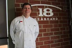 A Fall salad from Chef Jason at 18 Seaboard restaurant