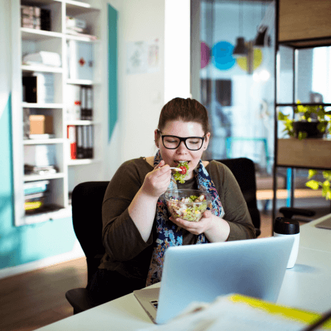 Tips to Staying Healthy While Working from Home